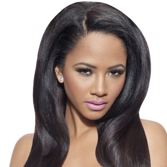 Virgin Remy Hair Yaki Straight